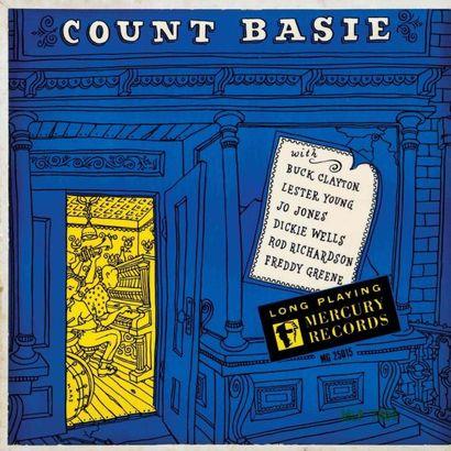 BASIE Count. Lot de 36 vinyles dont le Clef Mgc 666. E.O. et rééditions. 33T 25...