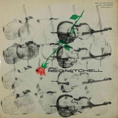 CONTRE BASSE. Lot de 78 vinyles environ dont le Red Mitchell Bethlelhem 38. E.O....