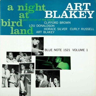 BLAKEY Art. A night at birdland. Blue Note 1521, RVG, EAR, DG, LEXINGTON. 33T 30...