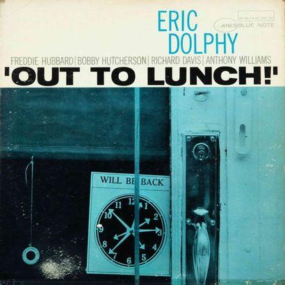 BLUE NOTE (LABEL-SAXOPHONE). Lot de 5 vinyles :MOBLEY Hank : The turnaround, ROUSSE...