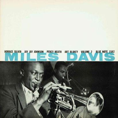 BLUE NOTE (LABEL-TROMPETTE) . Lot de 6 vinyles :NAVARRO Fats : The fabulous, Davis...