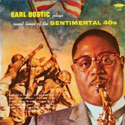 BOSTIC Earl. Lot de 20 vinyles dont le King 503. E.O. et rééditions. 33T 30 CM....