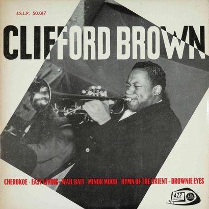 BROWN Clifford. Lot de 19 vinyles rééditions et éditions rares anciennes. 33T 25...