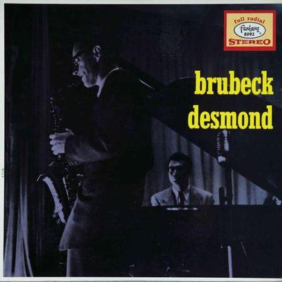 BRUBECK Dave. Lot de 8 vinyles dont le Fantasy 3204. E.O. et rééditions. 33T 25...
