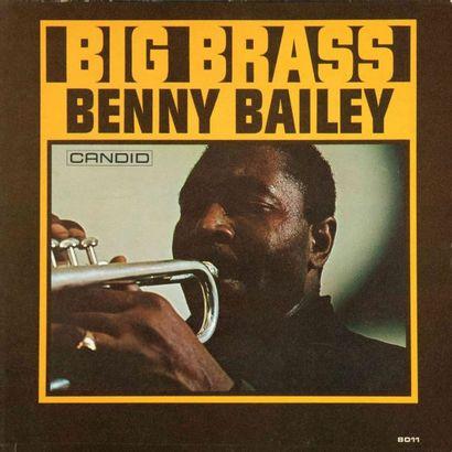 CANDID (LABEL). Lot de 3 vinyles : Toshiko Mariano Quartet, BAILEY Benny: Big Brass,...