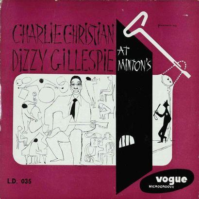 CHRISTIAN Charlie. Lot de 11 vinyles. rééditions et éditions rares anciennes. 33T...