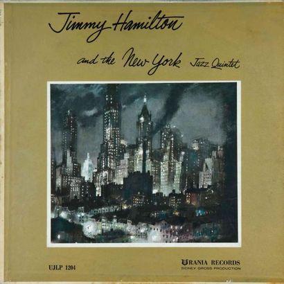 CLARINETTE. Lot de 20 vinyles dont le Jimmy Hamilton Urania uglp 1204. E.O. et rééditions....