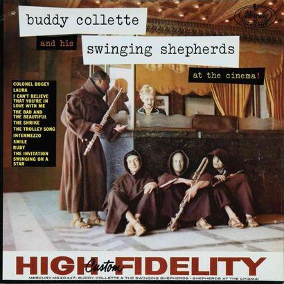 COLLETTE Buddy. Lot de 9 vinyles dont le...