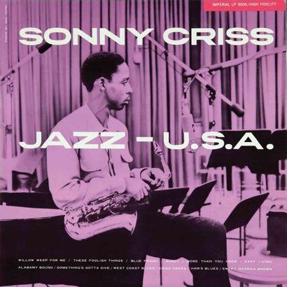 CRISS Sonny. Lot de 13 vinyles dont le Fresh...