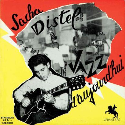 DISTEL Sacha. Lot de deux vinyles : Jazz...