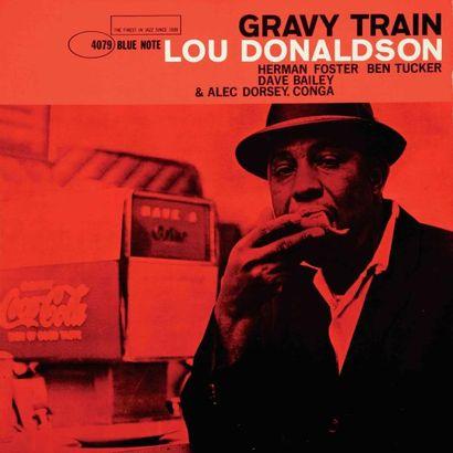 DONALDSON Lou. Lot de 2 vinyles : Gravy Train...