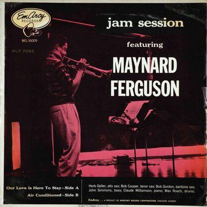FERGUSON Maynard. Lot de 17 vinyles dont...