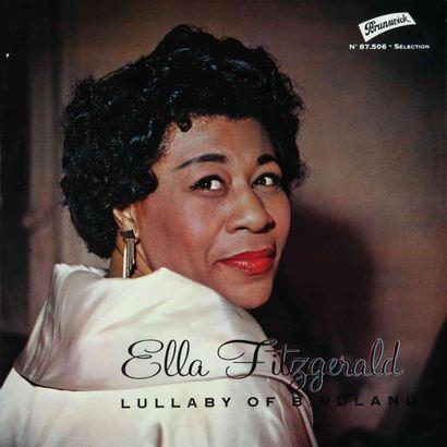 FITZGERALD Ella. Lot de 21 vinyles dont le...