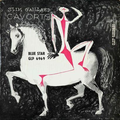 GAILLARD Slim. Lot de 17 vinyles dont le...