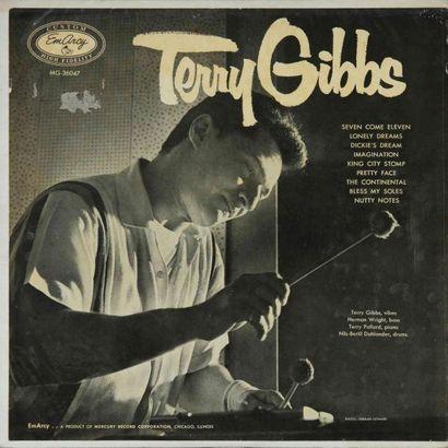 GIBBS Terry. Lot de 18 vinyles dont le Verve...