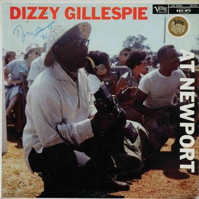 GILLESPIE Dizzy. Lot de 60 vinyles environ...