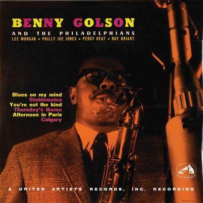 GOLSON Benny. Lot de 10 vinyles dont le Argo...