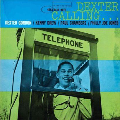 GORDON Dexter. Lot de 10 vinyles dont le...