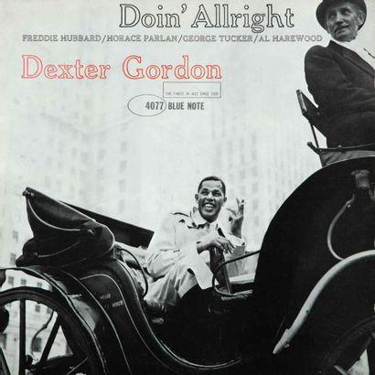 GORDON Dexter. Lot de deux vinyles : Doin'Allright,...