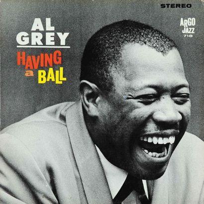 GREY Al. Lot de 10 vinyles dont le Argo 731....