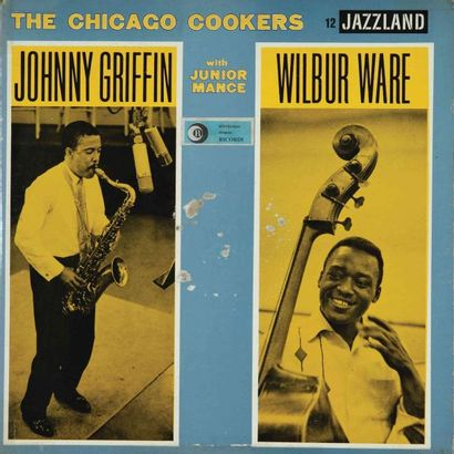 GRIFFIN Johnny. Lot de 10 vinyles dont le...