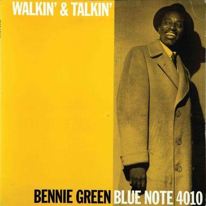 GREEN Bennie. Lot de 3 vinyles : Walkin'...