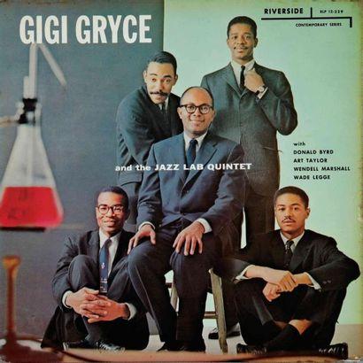 GRYCE Gigi. Lot de 7 vinyles dont le New...