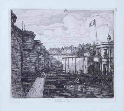Charles MERYON (1821-1868)  Partie de la...