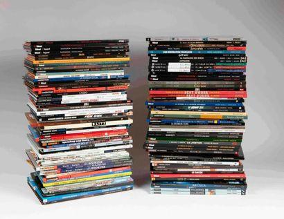 Lot de bandes dessinées modernes, environ...