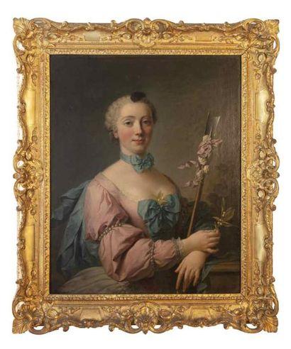 Attribué à Charles Etienne GUESLAIN (1685-1765)...