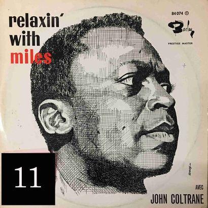 Miles DAVIS : lot d'environ 40 vinyles comprenant...