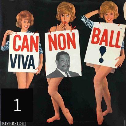 Cannonball ADDERLEY : lot d'environ 35 vinyles...