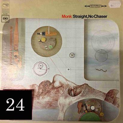 Thelonius MONK : lot d'environ 40 vinyles...