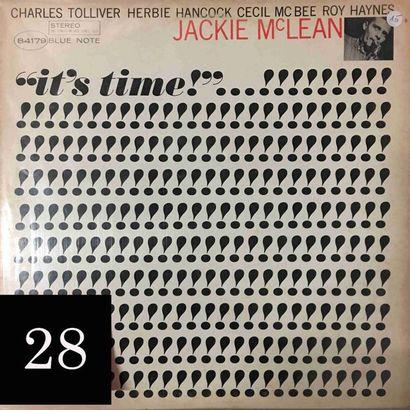 Jackie Mc LEAN : lot d'environ 20 vinyles...