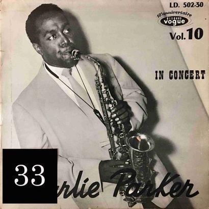 Charlie PARKER : lot d'environ 30 vinyles...