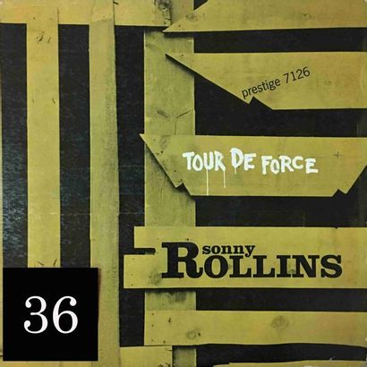 Sonny ROLLINS : lot d'environ 50 vinyles...