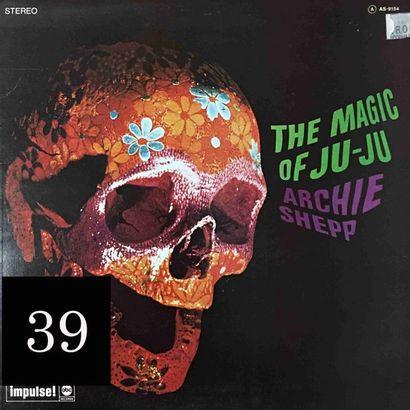 Archie SHEPP : lot d'environ 25 vinyles comprenant...
