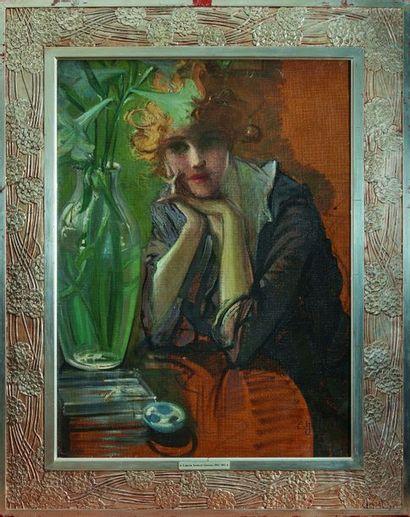 Eugène Samuel GRASSET (1845-1917) : Portrait...