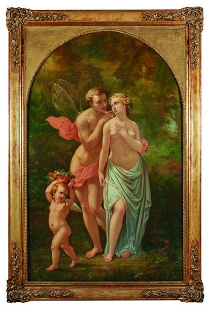 Numa BOUCOIRAN (1805-1869) : L'Amour et Psyché....