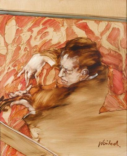 Claude WEISBUCH (1927-2004) : Prélude. Toile...