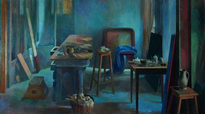 Bernadette KELLY (née en 1933) : L'Atelier...