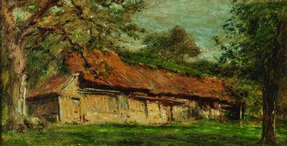 Adolphe-Félix CALS (1810-1880) : La Ferme...