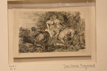 Jean-Honoré FRAGONARD (1732-1802) : Les Deux...