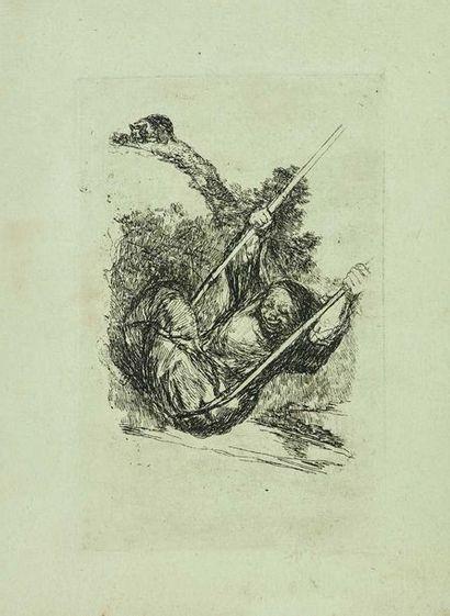Francisco de GOYA (1746-1828) : Le Vieux...