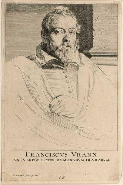 Anton VAN DYCK (1599-1641) : François Frank....