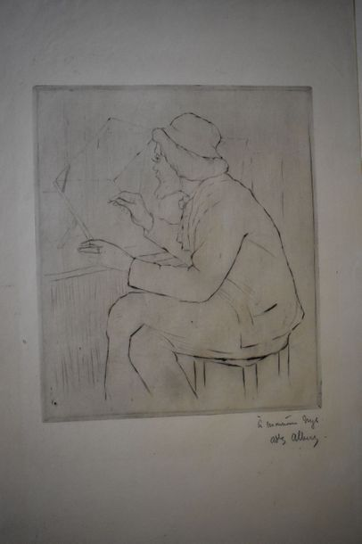 Adolphe ALBERT (1855-1938) : Portrait de...
