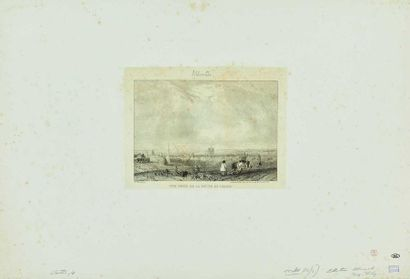 (R. P.) BONINGTON (1802-1828) : Vue prise...
