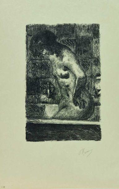 Pierre BONNARD (1867-1947) : Nu debout dans...