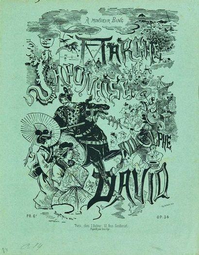 Félix BUHOT (1847-1898) : Marche Japonaise....