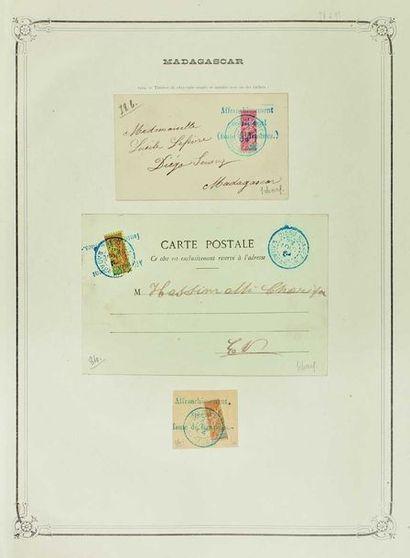 Colonies françaises. Période 1880/1940. Belle...